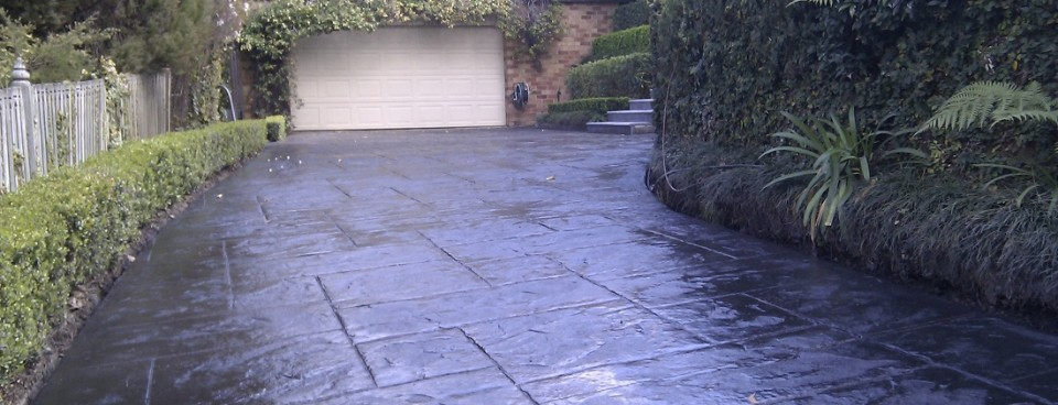 Concrete Stamped Driveways